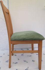Esstisch mit 2 Stühlen Buche