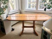 Holztisch Erle ausziehbar lackiert