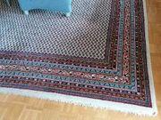 Echter handgeknüpfter Teppich aus Indien