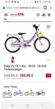 Mädchen Fahrrad Puky