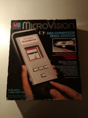 MB Electronics MicroVision Spiel Blockbuster