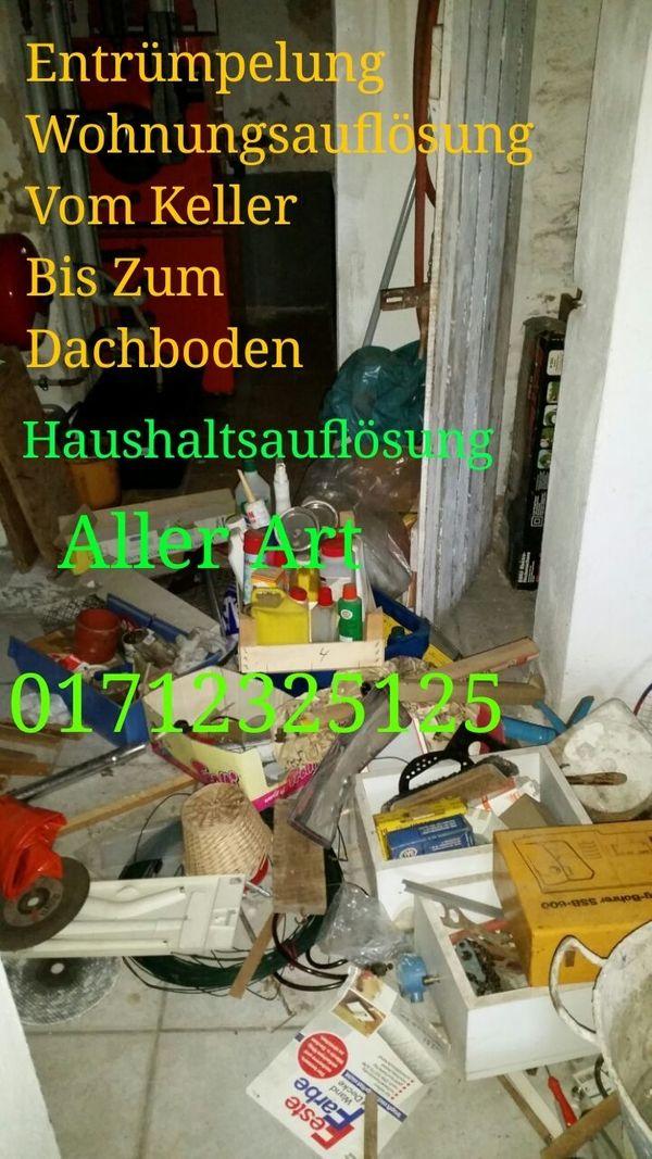 MDA Wohnungsauflösung Entrümpelung Erlangen