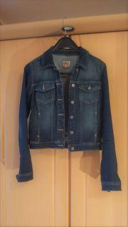 Blaue Jeansjacke Only Größe 36