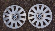 2x original BMW 16 Radzierblenden