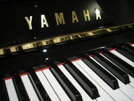 Klavier Yamaha U1 Schwarz poliert: Kleinanzeigen aus Eschach - Rubrik Tasteninstrumente
