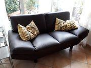Sofa Kanzas 2-Sitzer Eco-Leder