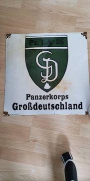 emailie Schild 2wk Panzer Grosdeutschland