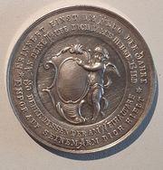 Seltener Tauftaler Silber Medaille zur