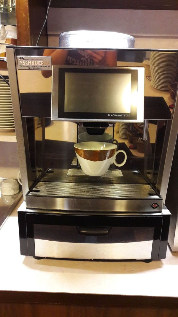 Gastronomie Thermoplan Kaffee-Vollautomat Typ Black