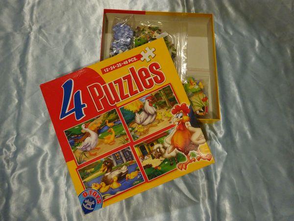 4 x Puzzle 12 24