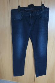 Jeans von MAC blau-schwarz Gr