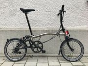 Brompton S6L Limited Nickel Edition