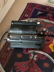 Alte Walther Rechenmaschine