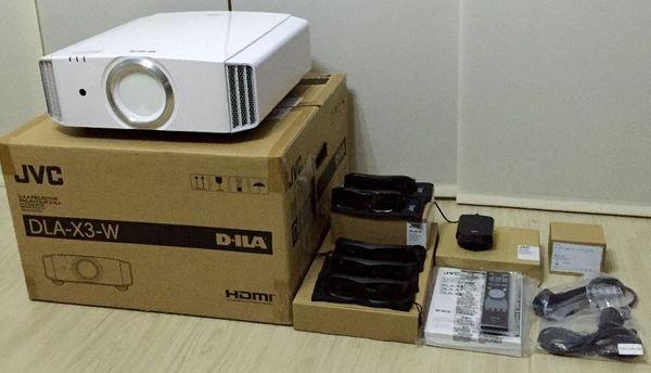 JVC DLA-X3 LCD Projektor mit