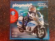 Playmobil 5180 - Polizeimotorrad mit Blinklicht
