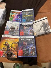 Playstation 5 Spiele neu