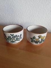 Alte Keramik Töpfle toll mit