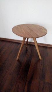 Beistelltisch Ablage stabil Holz Top