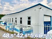 Rückbau Stahlhalle 48 5 x