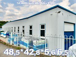 Rückbau Stahlhalle 48.5 x 42,8 x 5.6/6.5m Warmhalle Lagerhalle