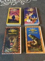 4 x Walt Disney VHS