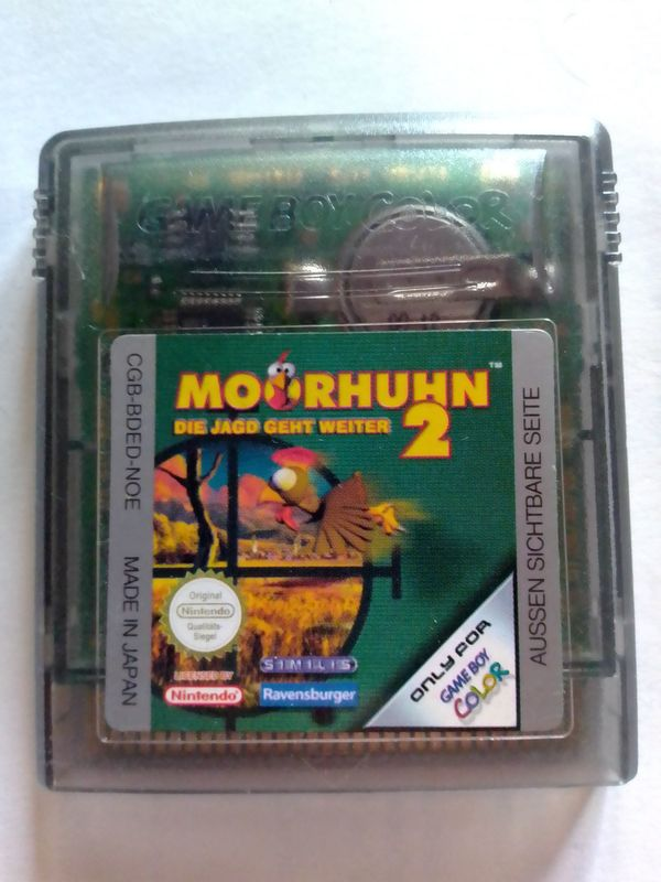 Gameboy Color Spiel Moorhuhn 2