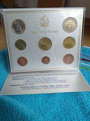VATIKAN KMS 2005 Kursmünzensatz Sedisvakanz