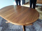 Massivholz Tisch Nussbaum 5 fache