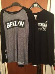 2x Longshirt Typ Brooklyn inkl