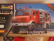 Revell 07531Schlingmann Unimog 1 24