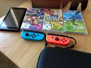 Nintendo Switch mit Garantie wie
