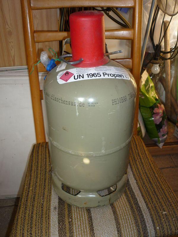Stahl Gasflasche 5 kg
