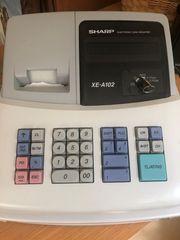 Elektronische Registrierkasse SHARP XE-A102