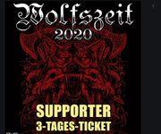 2 Supporter Tickets für Wolfszeit