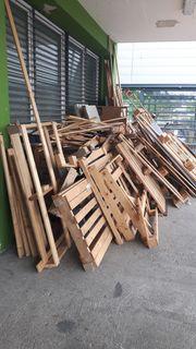 Brennholz Palettenholz
