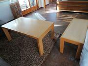 Wohnzimmer Bank und Tisch in