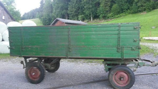 Zweiachs Drehscheibenhnger in Alberschwende - Traktoren