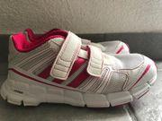 Mädchen Adidas Ortholite weiß-pinke Turnschuhe