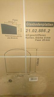 Funkenschutz Glasbodenplatte