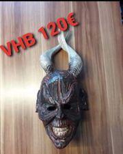 Teufels Krampus Maske