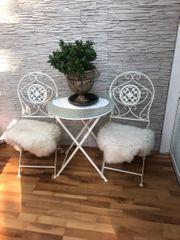 Gartentisch mit 2Stühlen