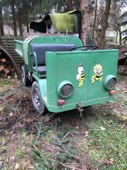 Dieselameise Dieselkarre Multicar 4Gang Kipper