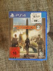 The Devision 2 Spiel PS4
