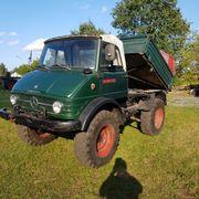 Unimog 406 Cabrio Landwirtschaftliche Ausführungen