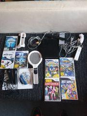 Komplette Wii mit 8 Spielen
