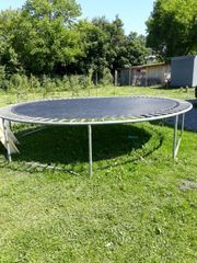 Trampolin 4m ohne Netz