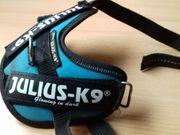 Julius-K9-Geschirr für kleine Hunde oder