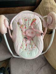 Babyschauke elektrisch guter Zustand Rosa