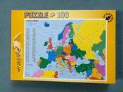 world-line - Puzzle 100 - Staaten Europas