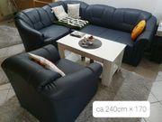 Eck Couch mit Schlaffunktion Sessel